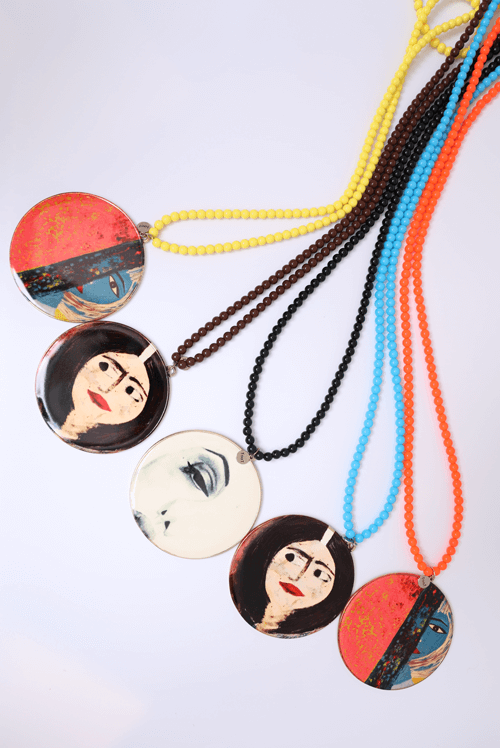Large Pandent Necklace