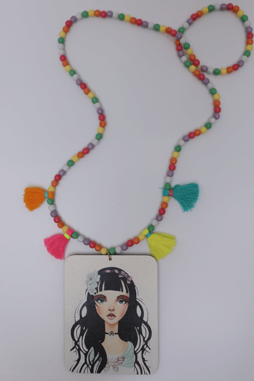 TOOT WOOD NECKLACE